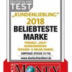 Focus Money Testlogo Beliebteste Marke 2018