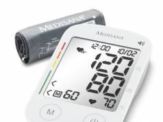 Medisana Blutdruckmessgerät BU 535 Voice mit Sprachausgabe in Landessprache.