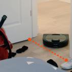 Neato Staubsauger Roboter Botvac D4 Connected mit LaserSmart-Kartierungstechnologie und -Navigation.