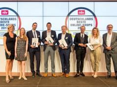 Ausgezeichnet: Die Verleihung am 20. September an notebooksbilliger.de.
