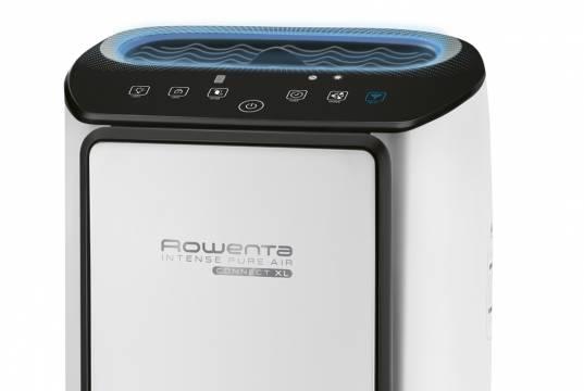 Rowenta Luftreiniger Intense Pure Air Connect XL mit Nano-Capture-Technologie.
