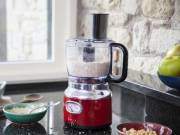 Russell Hobbs Food Processor Retro Ribbon Red mit Impuls-/Ice-Crush-Funktion.