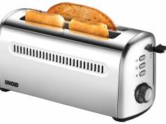 Unold Toaster 4er Retro ist ein 4-Scheiben-Doppel-Langschlitz-Toaster.