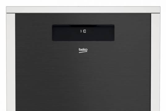 Beko Geschirrspüler Dark Inox DDN38530DX mit Direct Access Control