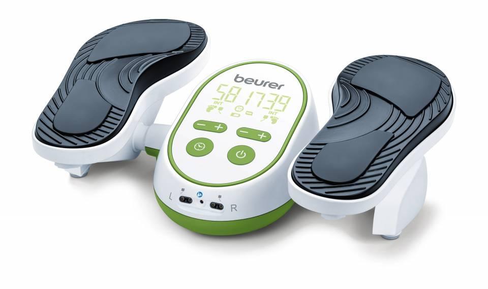 Beurer Massagegerät FM 250 Vital Legs bietet elektrische Fußmassage (EMS).