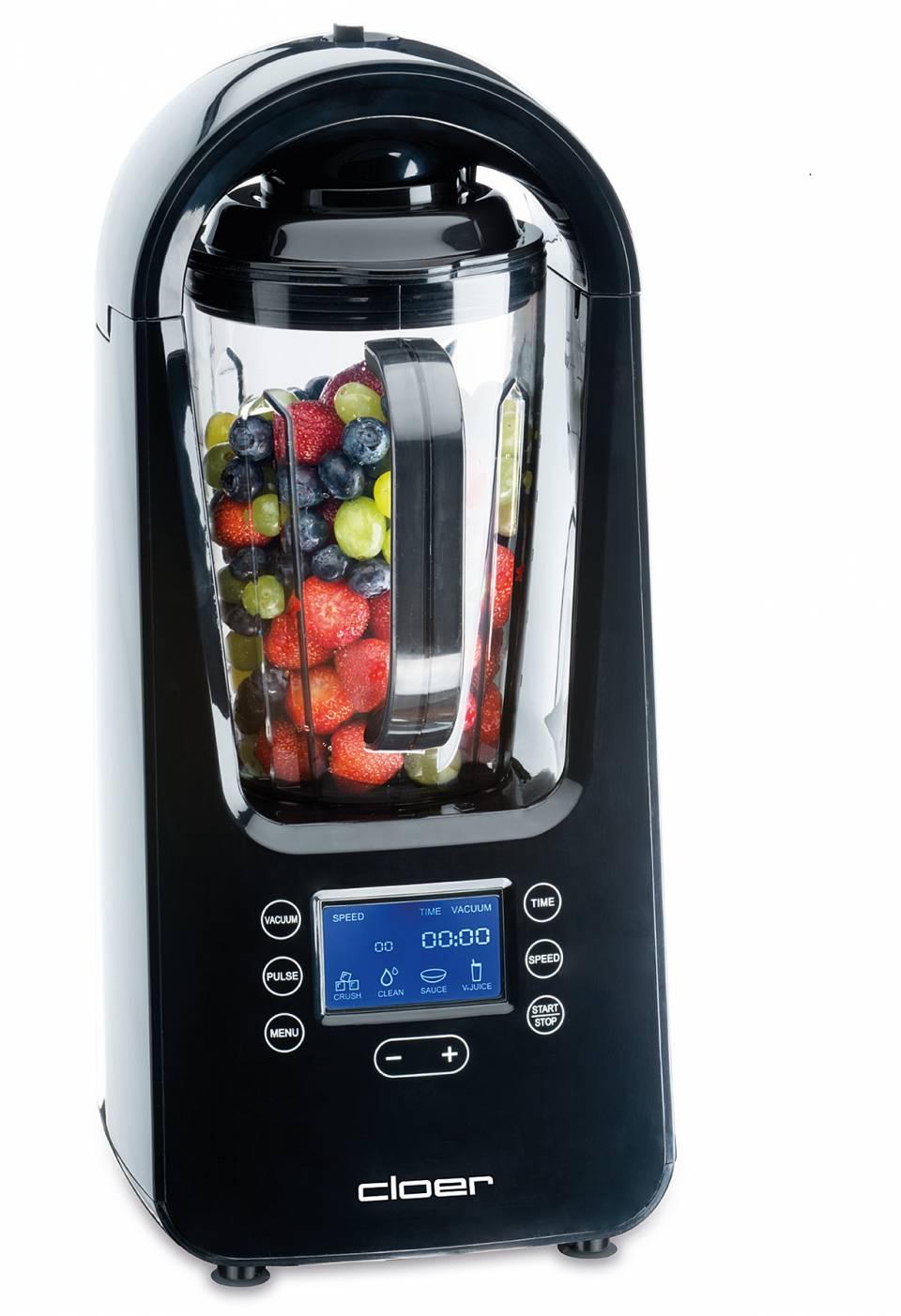 Cloer Vakuum Standmixer 6980 mit Eis-Crush-Funktion.
