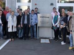 Gut zwei Dutzend junge Unternehmerinnen und Unternehmer aus dem Mitgliederkreis der Bielefelder EK/servicegroup besuchten Ulm und Geislingen.