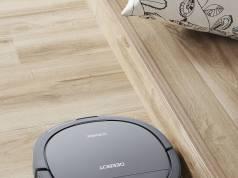 Ecovacs Saugroboter DEEBOT OZMO Slim 10 kann gleichzeitig Saugen und Wischen.
