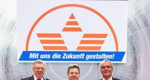 Die Expert-Vorstände in Göttingen (v.l.n.r).: Gerd Christian Hesse, Jochen Ludwig (Vorstandsvorsitzender), Dr. Stefan Müller.