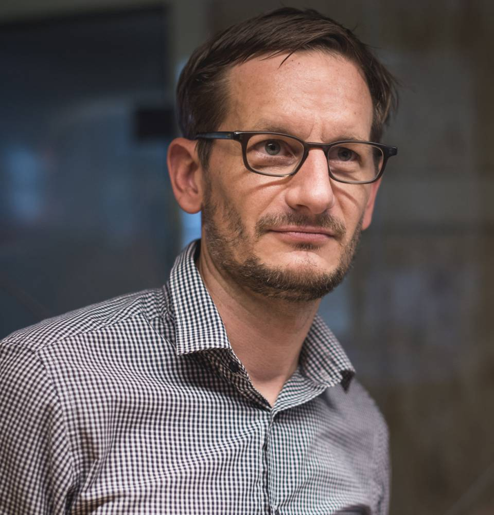 """""""Wir diskutieren auf Augenhöhe miteinander"""", Frank Hasselmann, Geschäftsführer Galaxus Deutschland."""