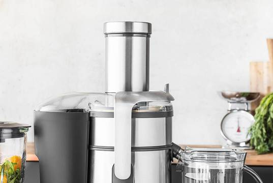Gastroback Entsafter Design Multi Juicer Digital mit Saftbox.