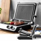 Gastroback Grill Design BBQ Pro auch als großer BBQ-Grill nutzbar.