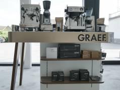POS-Konzept von Graef: Konzentrierte Kaffeekompetenz auf kleinstem Raum.