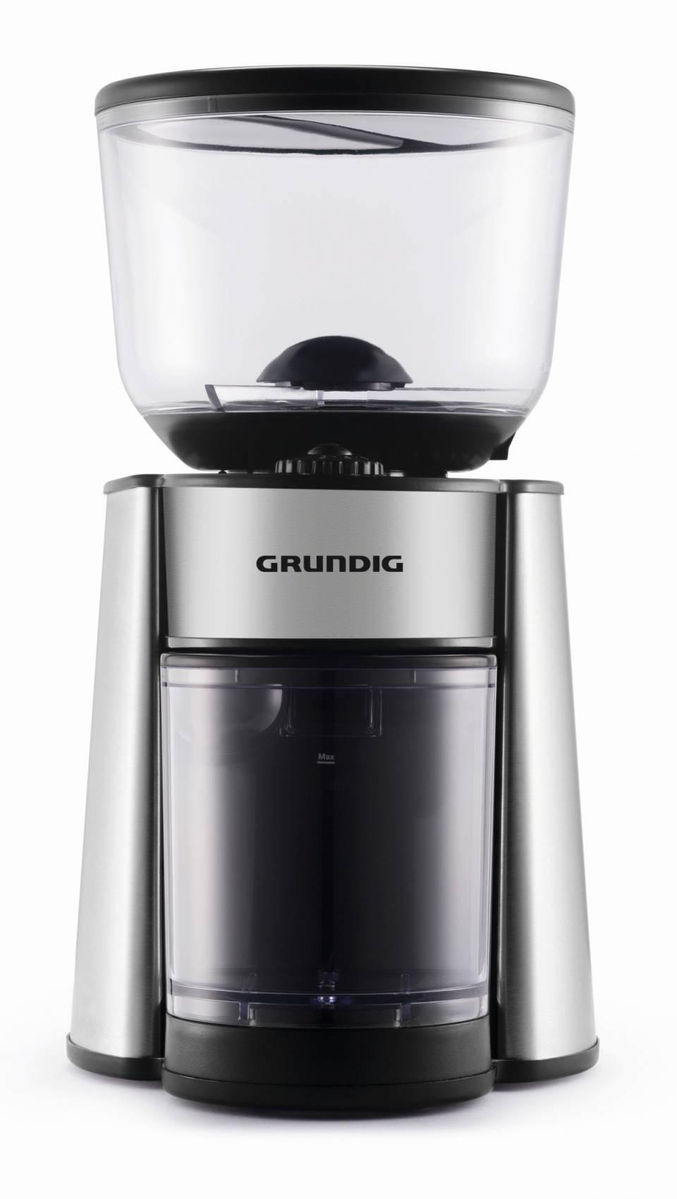 Grundig Kaffeemühle CM 6760 mit Scheibenmahlwerk.