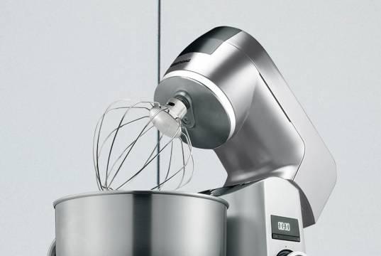 Grundig Küchenmaschine KMP 8650 S mit 12 Geschwindigkeitsstufen.