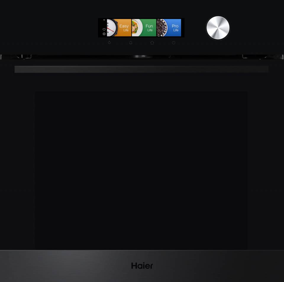 Haier Backofen iCook6 mit TFT-Display.