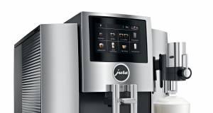 Jura Kaffeevollautomat S8 Modell 2018 mit Smart Connect.