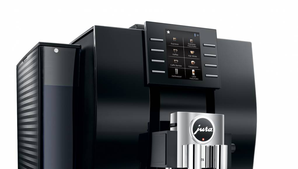 Jura Kaffeevollautomat Z6 Modell 2018 mit Smart Connect.