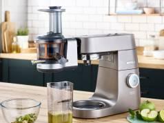 Kenwod Aufsatz Slow Juicer für Küchenmaschinen.