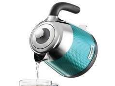 Kenwood Wasserkocher Mesmerine mit einem Fassungsvermögen von 1,6-Liter.