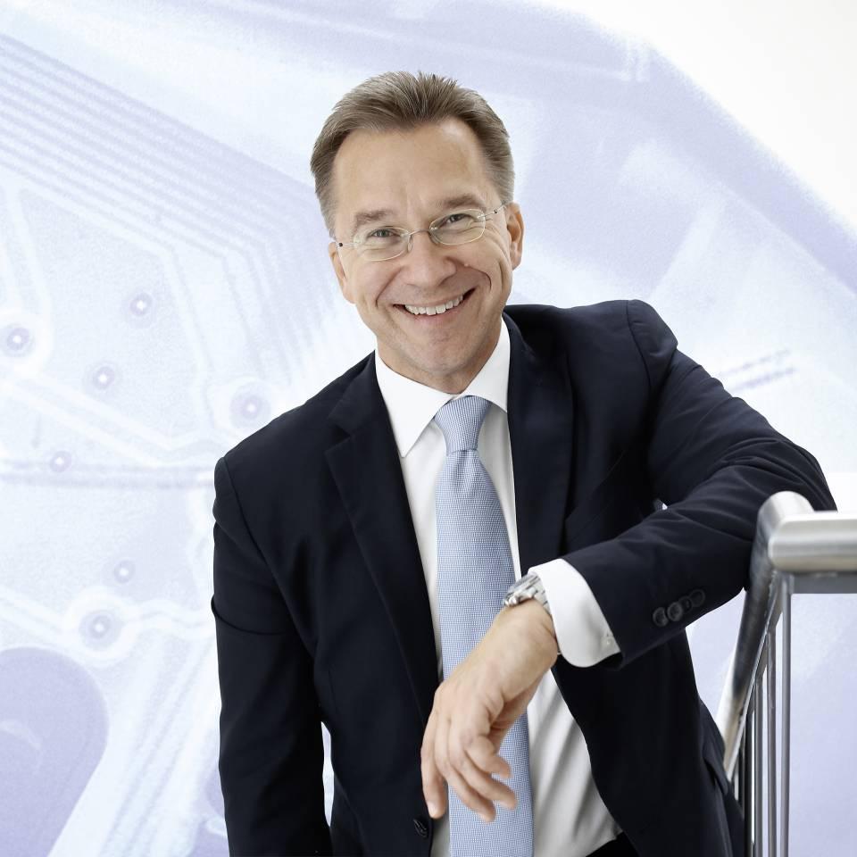 """""""Zufriedene Kunden kommen wieder"""", Euronics Vorstandssprecher Benedict Kober."""