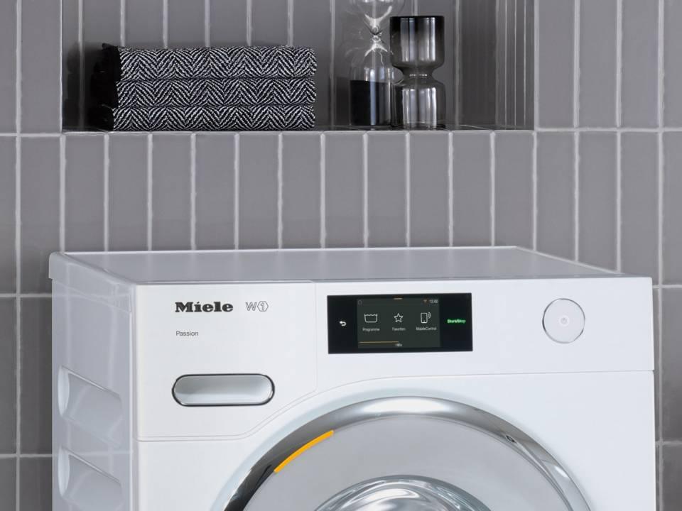 Miele Waschmaschine W1 Passion mit SingleWash.