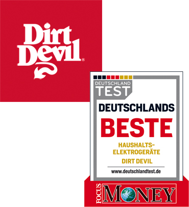Sigel Focus Money Deutschlands beste Haushaltselektrogeräte Dirt Devil