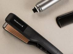 Remington Kreppeisen Ceramic Crimp 220 S3580 für Zick-Zack Wellen und Volumen.
