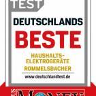 """Focus hat Rommelsbacher mit dem Testsiegel """"Deutschlands Beste"""" ausgezeichnet"""