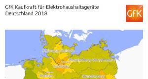 Sortimentskaufkraft 2018 Deutschland Kreise Elektrohaushaltsgeraete