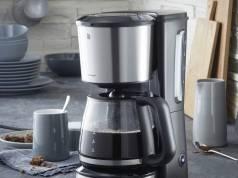 WMF Bueno Pro Kaffeemaschinein in Glas- oder Thermokannen-Variante.