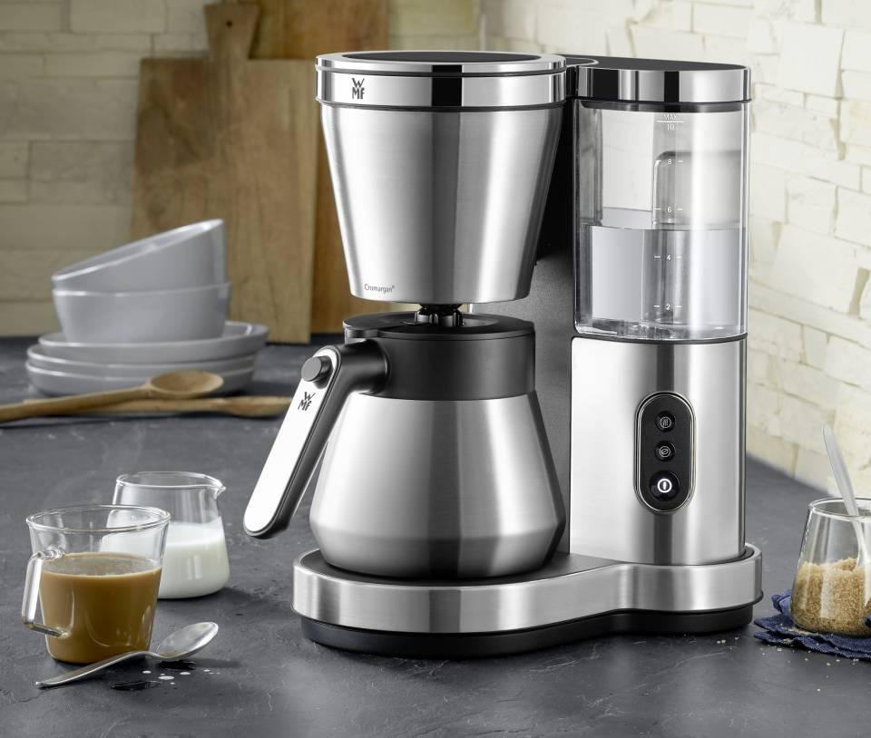 WMF Lono Kaffeemaschine mit Glas- oder Thermo-Kanne.