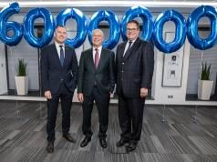 Erfolgreiche Unternehmensführung (v.li.): Thilo Dröge, Vertriebsleiter; Thomas Schröder, Vorstandsvorsitzender; Patrick Döring, Vertriebsvorstand.