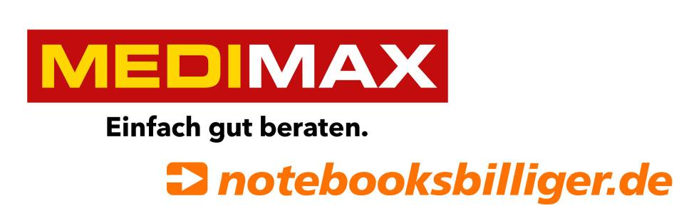 Logos medimax notebooksbilliger-de-collage