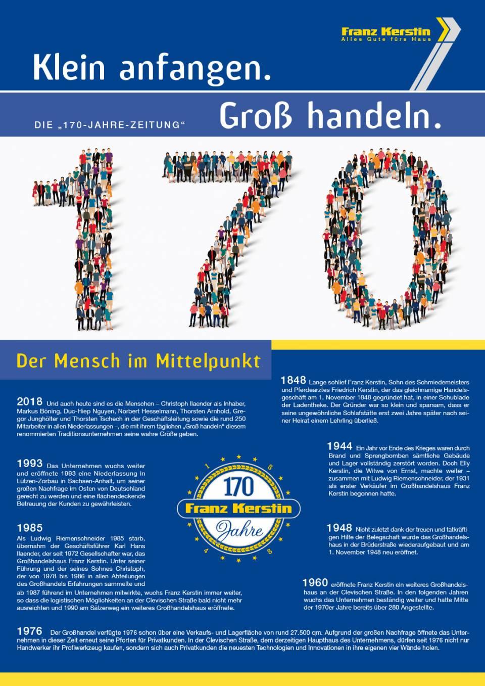 170 Jahre Zeitung Franz Kerstin