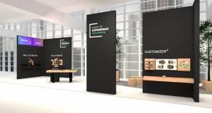 On- und Offline verbinden – am Point of Experience auf der Messe Ambiente.