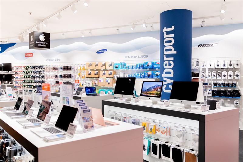 Cyberport: Store in Hamburg