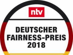 Logo Deutscher Fairness-Preis 2018