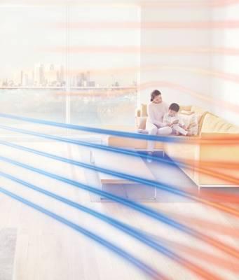 Dyson Luftreiniger Pure Hot+Cool mit Echtzeit-LCD.