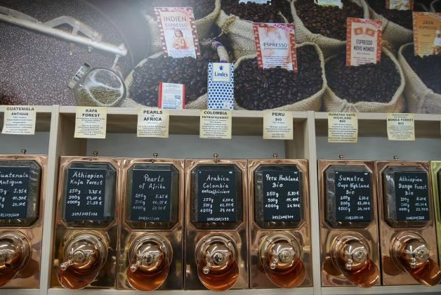 Edelste Bohnensorten für besten Kaffeegenuss bietet EP: Hämmerle seiner Kundschaft.