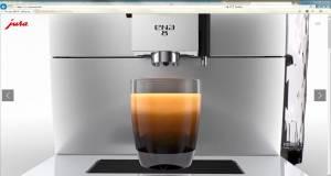 Großer Auftritt für den kleinen Kaffeevollautomaten von Jura, die ENA 8.