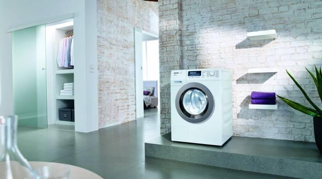 Testsieger im aktuellen Waschmaschinen-Test der StiWa: Miele WKF 311 WPS SpeedCare. Sie überzeugte vor allem bei Handhabung und Umwelteigenschaften.