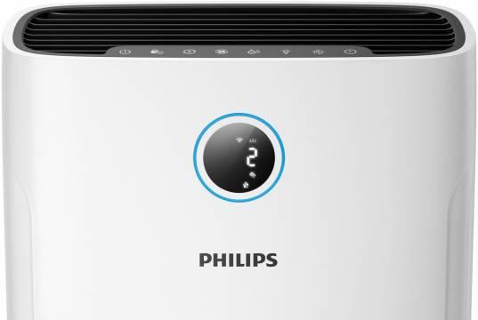 Philips Luftreiniger und Luftbefeuchter Series 2000i AC2729/10 als Kombigerät.