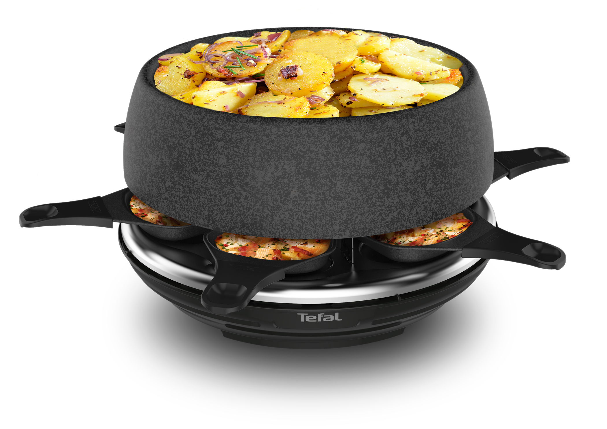 <h1>Tefal Raclette-Fondue Cheese 'n Co</h1><h3 style='font-size: 20px; margin: 0px 0px 15px 0px;'> -6 Funktionen, Thermo-Spot</h3>