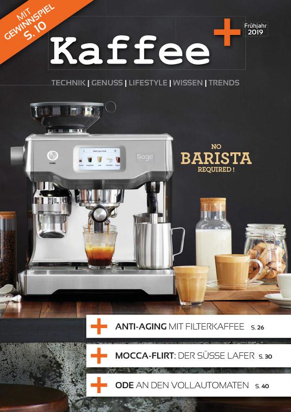 Cover Kaffee+ 2019/01