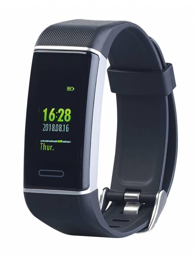 newgen medicals Fitness-Armband FBT-200.gps für Fittness und Gesundheit.