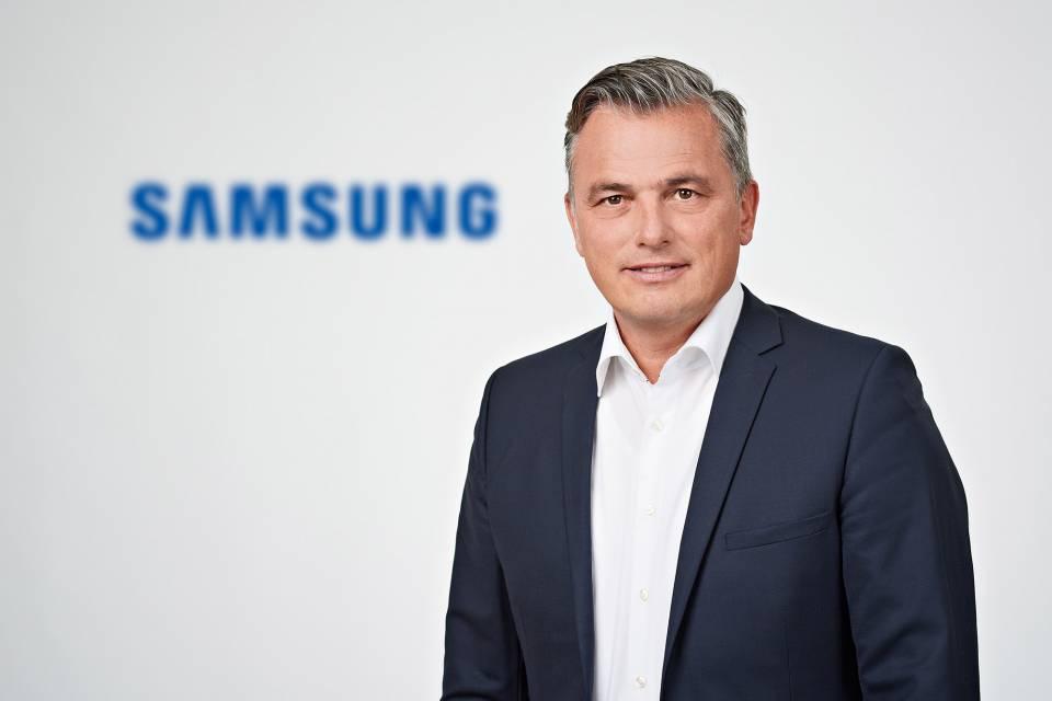 Seit dem 1. August an der Spitze des Vertriebsteams im Bereich Einbaugeräte bei Samsung: Martin Alof.
