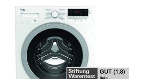 """Der Waschvollautomat WYAW 714831 LS von erhält von Stiftung Warentest in der Ausgabe 11/2018 die Gesamtwertung """"Gut"""" (1,8)."""