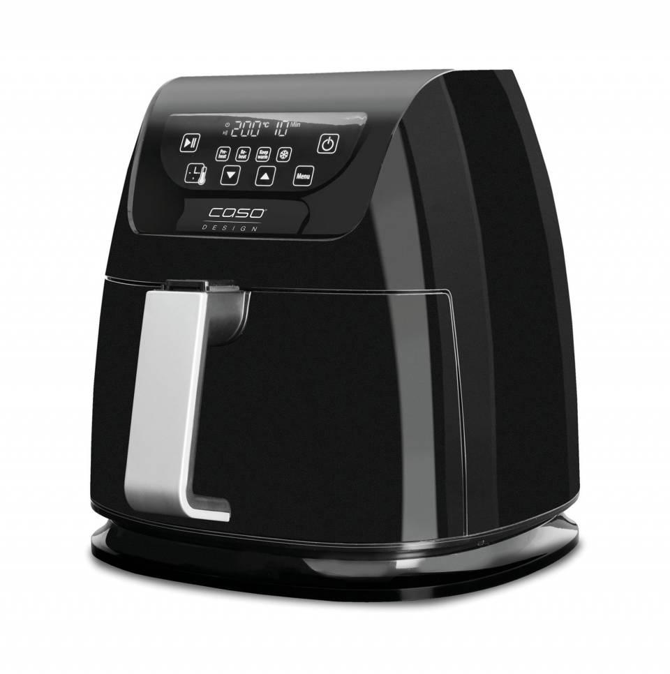 Caso Design Heißluftfritteuse AF 250 zum Frittieren, Erhitzen, Braten, Rösten, Grillen, Backen oder Warmhalten.