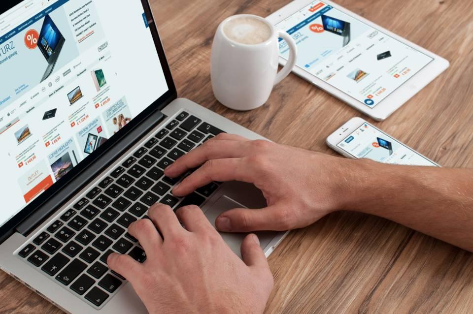 Cyberport Multi-Plattform-Shopping.